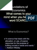 Introduction to economics -  lecture 1.ppt
