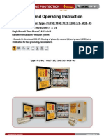 Surge Protector - Installation Instruction Type PI 3_3 MCB RS (http://shop.acdc-dcac.eu/)