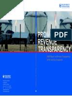 Report Revenue Transparency Oil Gas Companies