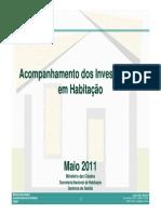 2011_05 Caderno SNH - Acompanhamento dos investimentos em habitação