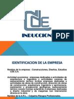 CDE INDUCCCION