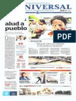 PORTADA PERIÓDICOS MEXICANOS-JUEVES-19-SEPT-2013