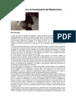 Delmira Agustini y la feminización del Modernismo