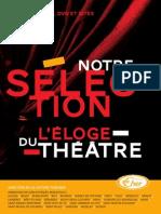 Toutographie  Eloge du Theatre