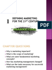 Chapter No 1 Marketing