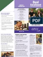 Dual Enrollment Brochure