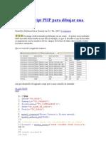 Sencillo Script PHP Para Dibujar Una Tabla