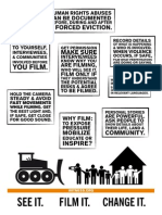 Tip Sheet: How to film forced evictions