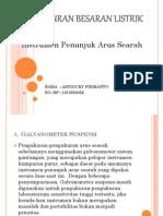PBL_ASYDICKY FIRMANTO_1210952055_Instrumen Penunjuk Arus Searah