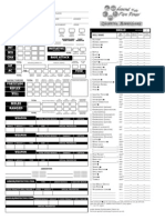 Character Sheet for oriental adv 3.5
