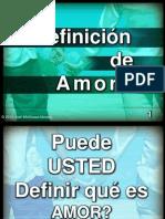 PowerPoint+ +Definicion+de+Amor