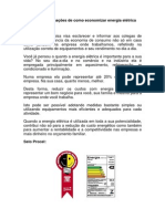 Dicas e informações de como economizar energia elétrica por Jorge Santana Junior