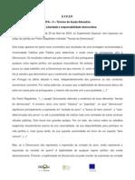 Estado Da Democracia Em Portugal