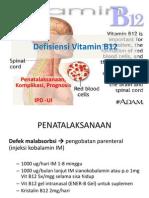 Anemia Defisiensi Vitamin B12-Tatalaks,Progno,Kompli