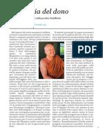 Economia Del Dono - Thanissaro Bhikku