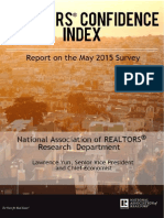REALTORS® Confidence Index