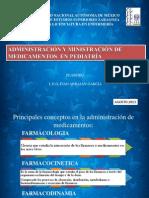 Administración y ministración de medicamentos en pediatria