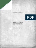 Bilderberg Meetings Conference Report 1980