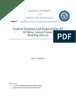 Lab 5 Modelling Motor
