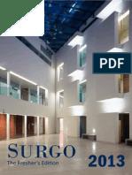 Surgo Fresher's Edition 2013