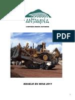 COMPAÑÍA MINERA ANTAMINA - MANEJO DEFENSIVO