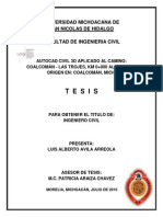 Tesis Carr Con Civil 3d
