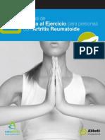 Manual de Ayuda Al Ejercicio Para Personas Con Artritis Reumatoide