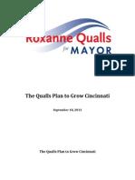 The Qualls Plan to Grow Cincinnati