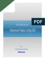 SAS Training Session 3
