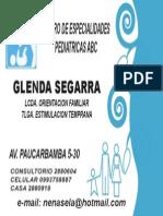 Tarjeta Glenda