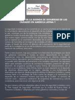Hacia donde va la Seguridad en América Latina