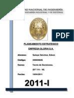 Planeamiento Estrategico Gloria s.a.