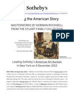 Masterworks By Norman Rockwell From The Stuart Family Collection At Sotheby's New York - 4 December 2013