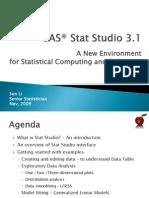 SAS Stat Studio v3.1