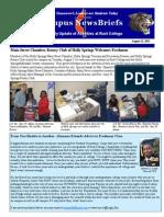 Rust College Campus NewsBriefs (08/22/13)