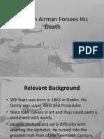 an irish airman forsees his death