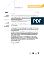 CJF Ministries August 2013 Newsletter