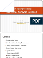 STATA Training Session 2