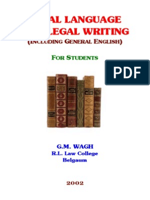 Legal Language and Writing Contractual Term