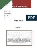 Cve 230 Lab Wood