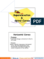 Lec 1 _ Superelevation