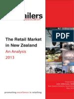 2013 Retail Market in NZ