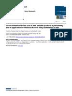 Fluorimeteric Paper 2012