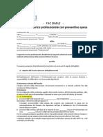 Facsimile Lettera Dincarico Con Preventivo