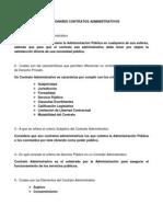 CUESTIONARIO CONTRATOS ADMINISTRATIVOS