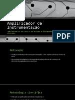 Amplificador de Instrumentação