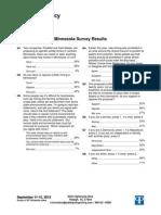 Minnesota Results - PPP Survey September 11-12