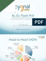 AL-01 Flash Poll Presentation - 09/19/13 - cygnal