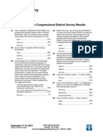 CD 8 Results - PPP Survey Sept 11-12