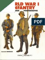 World War I Infantry in Color Photographs